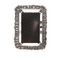 Black Mirror brass ring