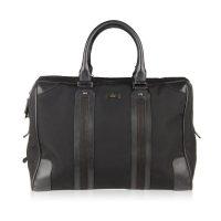 Black Soft Briefcase Travel Bag Overnight Bag