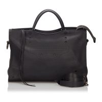 Blackout City Satchel Leather