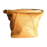 Camel Top Handle Tote Bag
