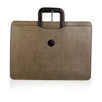 Canvas Retractable Handles Briefcase Work Bag