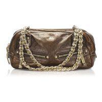 Capri Leather Shoulder Bag