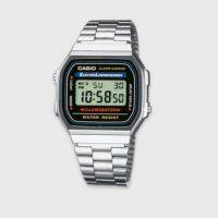 Casio Klokke Classic/Retro A168W Sølv