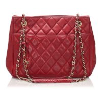 Classic Lambskin Leather Shoulder Bag