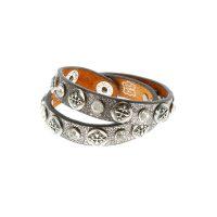 Cross Loop Shimmer Bracelet
