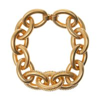 Crystal-embellished necklace
