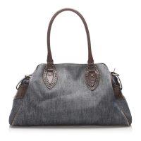 Denim Etniko Shoulder Bag