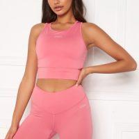 Drop of Mindfulness Melanie Sports Bra Pink Coral XS