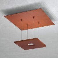 Escale Zen – rustfarget LED-taklampe