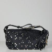 Ganni Bag Studded Nylon One Size