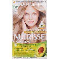 Garnier Nutrisse Cream 9.132 Nude Light Blonde, Garnier Hårfarge