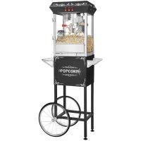 Great Northern Popcornvogn All Star 8-10 liter Svart