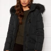 Hollies Wilma Long Jacket Black/Black 36