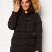 Hollies Wilma Long Jacket Black/Natural 44