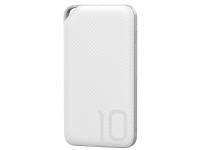 Huawei AP08Q, Hvit, Mobiltelefon/smarttelefon, Lithium Polymer (LiPo), 10000 mAh, USB, 2 A