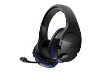 HyperX Cloud Stinger Wireless - Headset - fuld størrelse - 2,4 GHz - trådløs - Sort & Blå