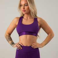 ICIW X-Sport Bra, Purple