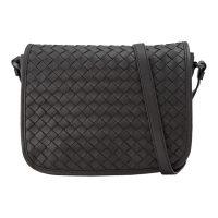 Intrecciato Leather Crossbody Bag Leather