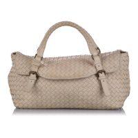 Intrecciato Leather Handbag