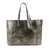 Intrecciomirage Leather Shoulder Bag