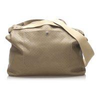 Intrecciomirage Leather Travel Bag