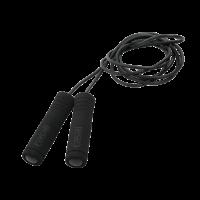 Jump Rope Foam Handle, Black