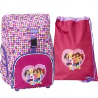 LEGO - Outbag Basic School Bag Set - Friends - Confetti (20096-1814)