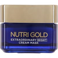 L'Oréal Paris Nutri Gold Extraordinary Night Cream Mask, 50 ml L'Oréal Paris Ansiktsmaske