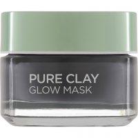 L'Oréal Paris Pure Clay Glow Mask, 50 ml L'Oréal Paris Ansiktsmaske