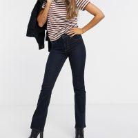 Levi's 725 high rise bootcut jeans in indigo-Blue