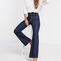 Levi's Ribcage bootcut jeans in indigo-Blue