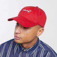 Levis batwing flex fit cap-Red
