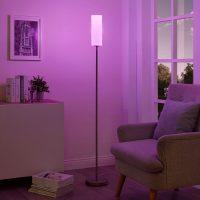 Lindy Smart RGB-LED-gulvlampe Felice, til app