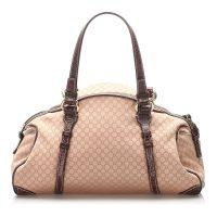 Macadam Canvas Handbag