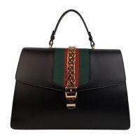 Maxi Sylvie Satchel Top Handle Bag
