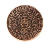 Mayan Calendar brass ring