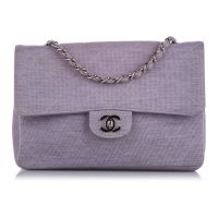 Medium Classic Cotton Single Flap Bag
