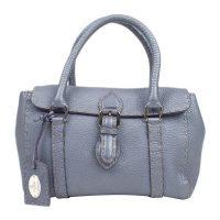 Mini Selleria Linda Leather Handbag