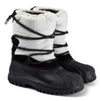 Moncler Chris Branded Boots White 34 (UK 2)