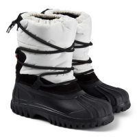 Moncler Chris Branded Boots White 38 (UK 5)