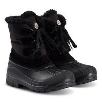 Moncler Christian Sherpa Ski Boots Black 30 (UK 11.5)