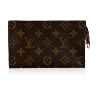 Monogram Canvas Toiletry Pouch 17 Cosmetic Bag