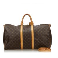 Monogram Keepall Bandouliere 55 Canvas