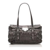Nappa Gaufre Sound Lock Shoulder Bag