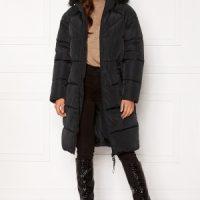 ONLY Monica Long Puffer Coat Black L