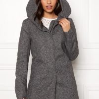 ONLY Sedona Light Coat Dark Grey Melange XL