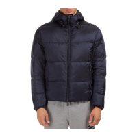 Outerwear down jacket hood