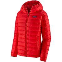 Patagonia Down Sweater Hoody XL Hettejakke, dame, Catalan Coral