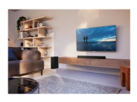 Philips HTL3310 - Lydplankesystem - for TV - 2,1 kanaler - trådløs - Bluetooth - 160 watt (Total) - svart