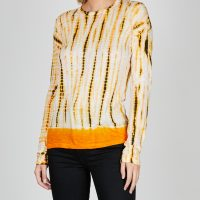 Proenza Schouler Top Long Sleeve Tie Dye M